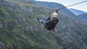 Zipline tours around Cape Town