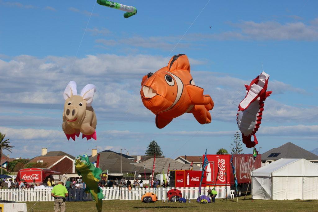 #EveryoneDeservesToFly at the Hybrid 27th Cape Town International Kite Festival