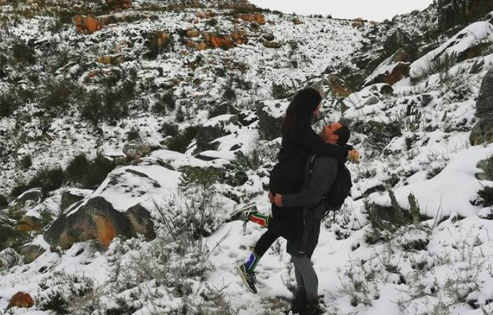 Snow snaps! The Western Cape's winter wonders