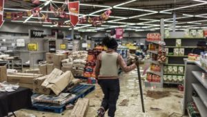 South Africa food, fuel shortages