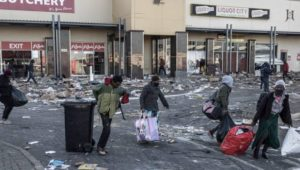 Looting South Africa